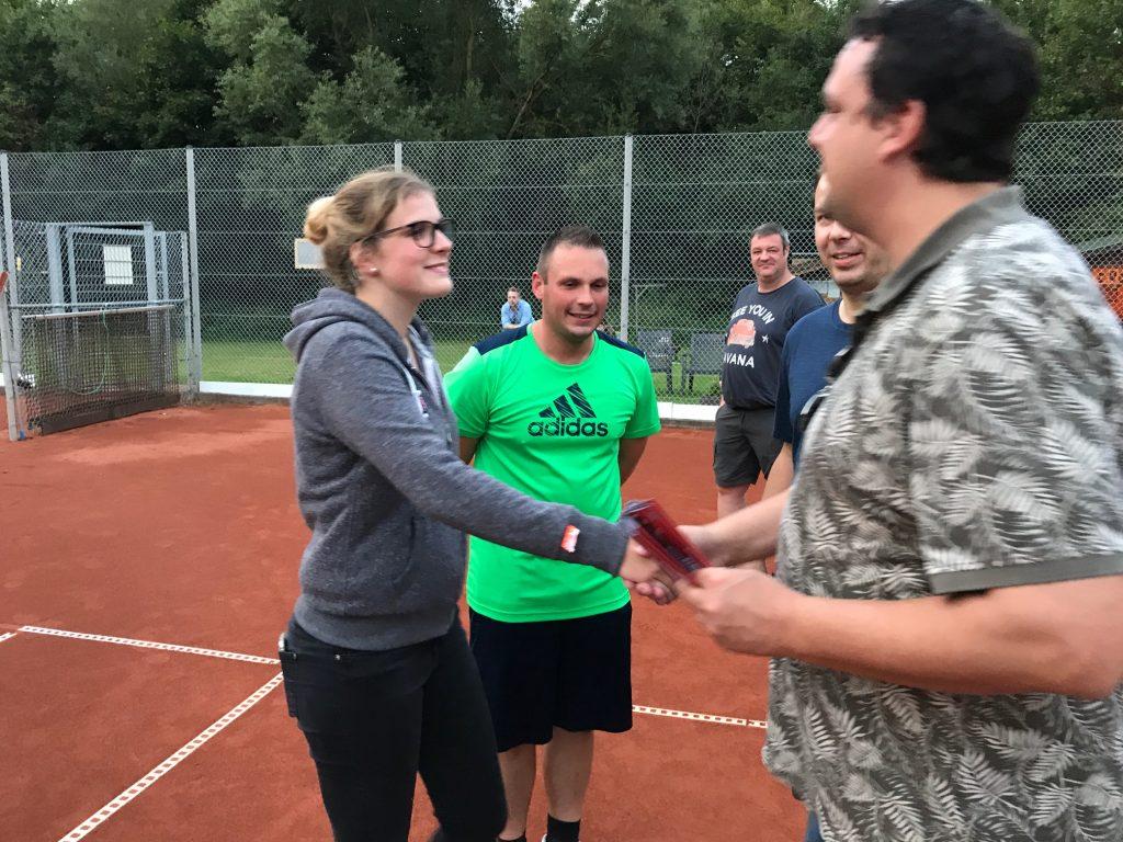 Annika Hannes und Michael Neuss - Clubmeister 2017 im Mixed